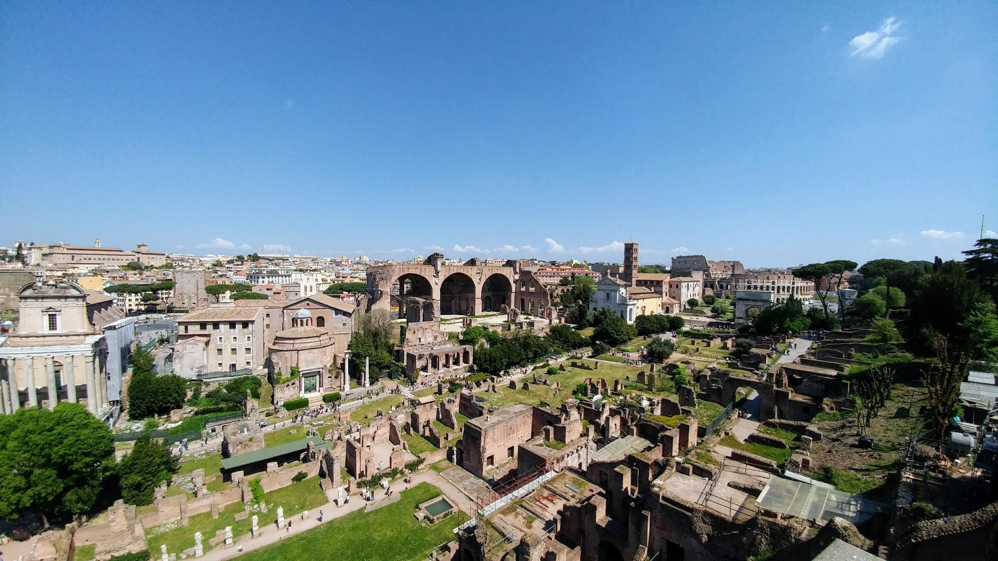 Photo of the Roman Forum
