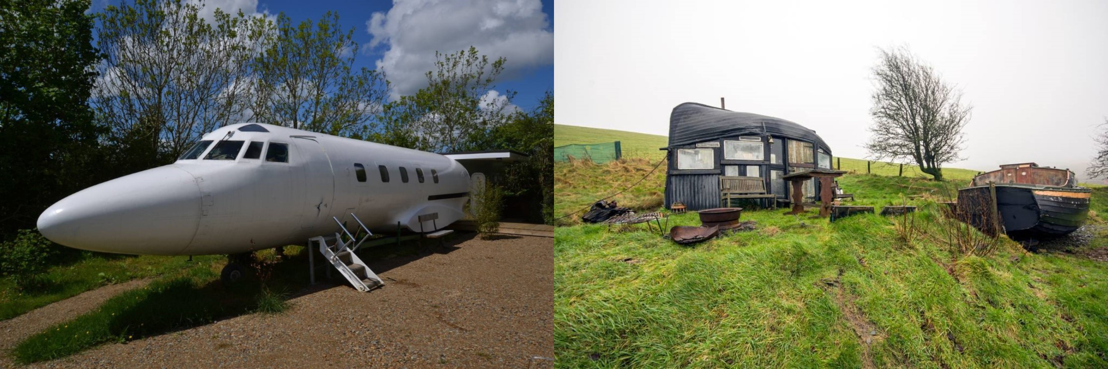 8 Bizarre Places You Can Stay in Wales