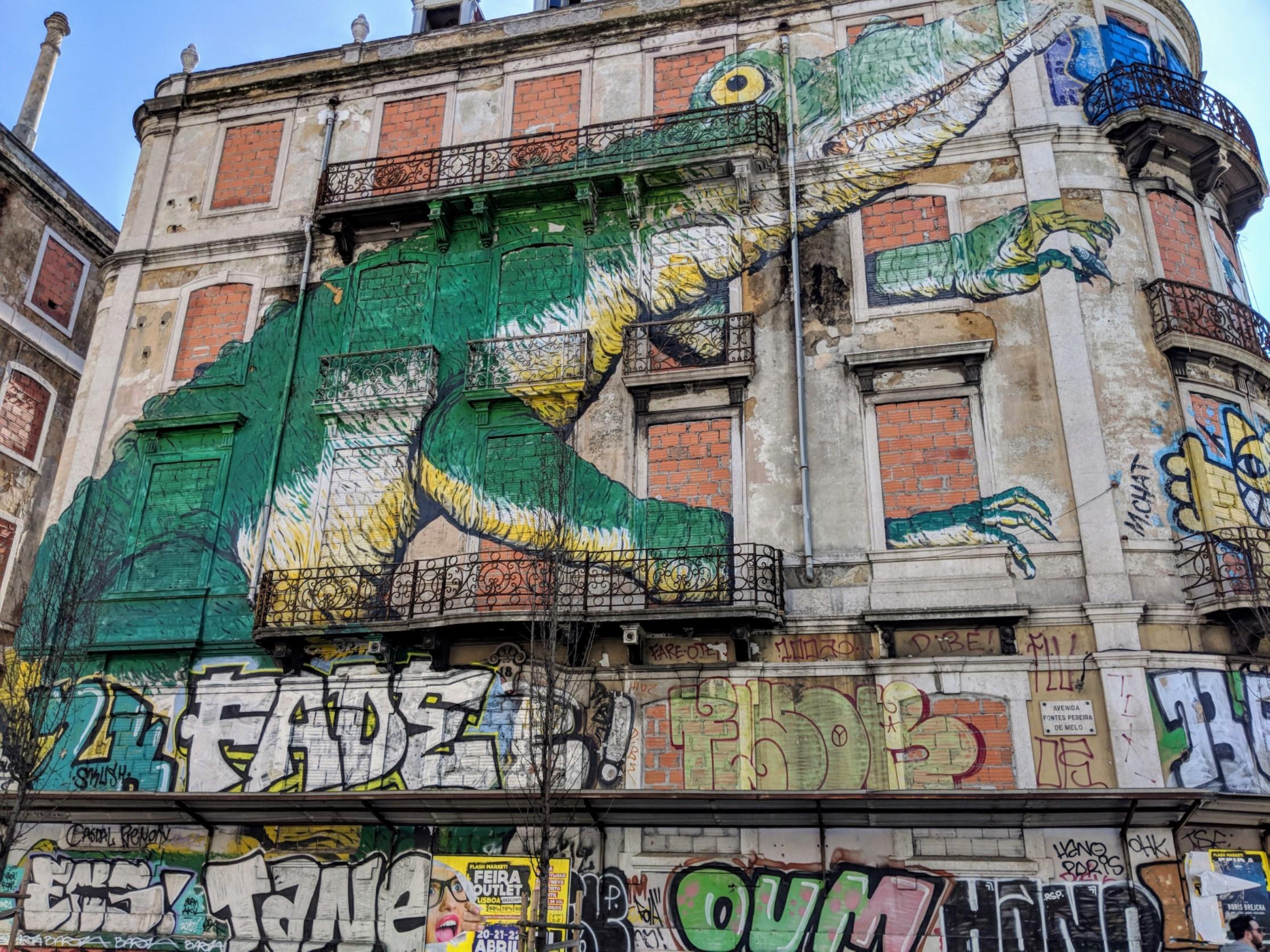 Discovering Street Art in Lisbon
