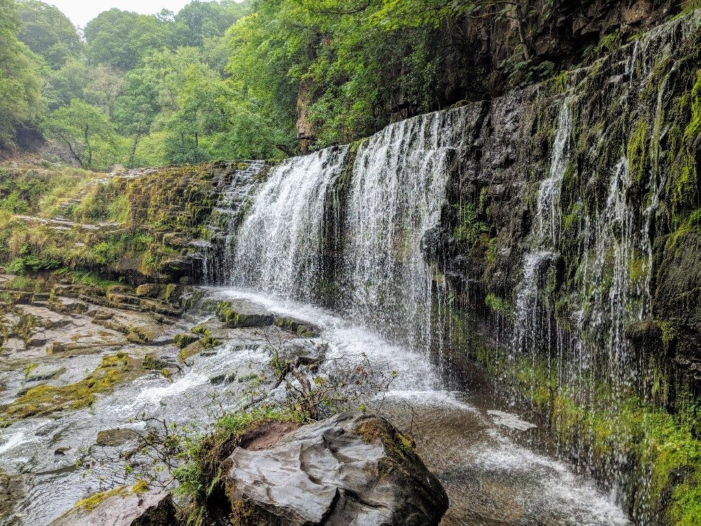 Alternative Route for Brecon Beacons Four Waterfalls Walk, Wales