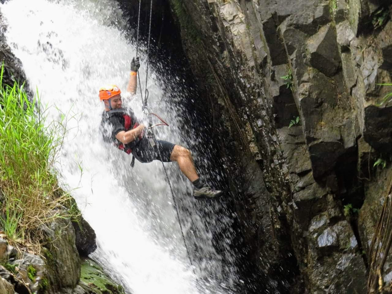 Canyoning in Dalat, Vietnam with Highland Holiday Tours