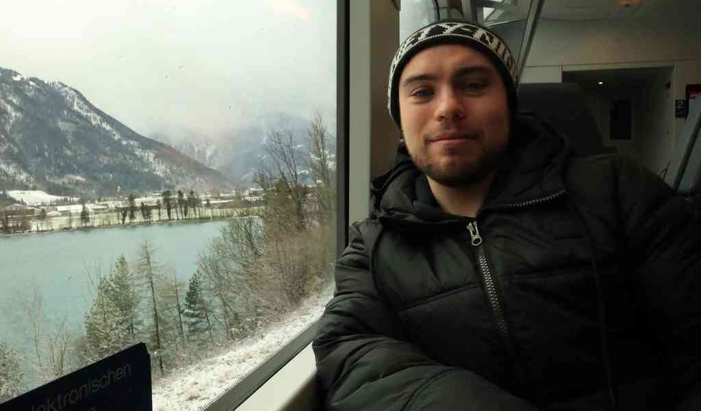 Riding the Golden Pass Scenic Train through Switzerland