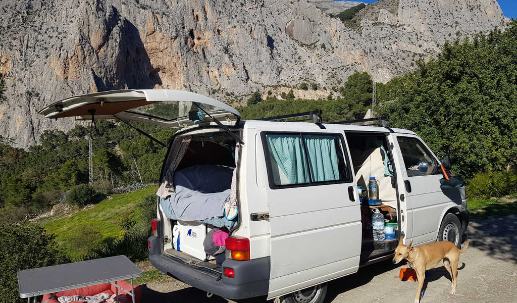 What it's Like Living and Travelling in a Small Van Conversion