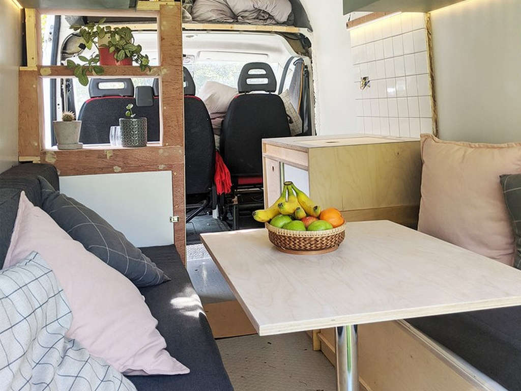 How to Convert a Van Into a Camper Van [with photo diary]